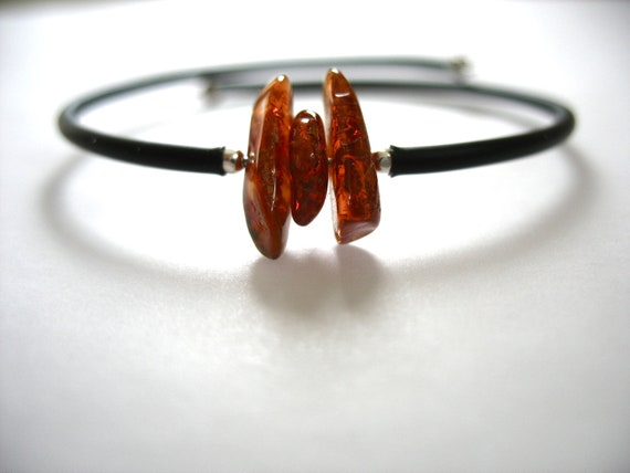 Amber Bracelet,  Baltic Amber Stone Cuff Bracelet, Handmade Baltic Amber Jewelry, Baltic Amber Jewelry, Gemstone Jewelry