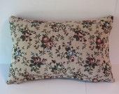 Handmade Tapestry Pillow with Zipper on Bottom