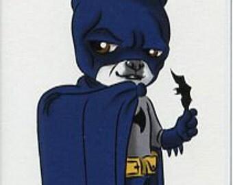Batman - Boston Terrier magnet