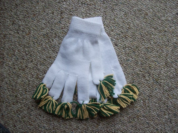 Green Bay Packers Inspired, Gloves,Gift,Child,Teen,Adult,NFL,Football,Photo Prop