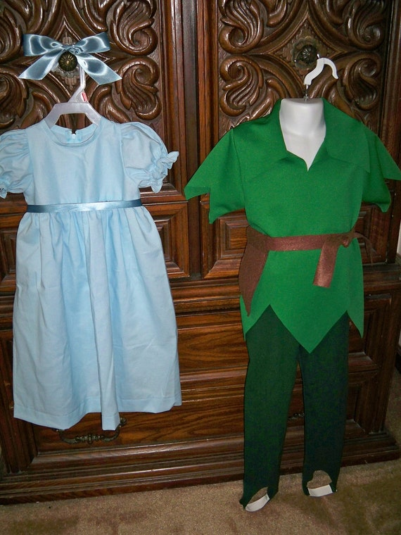 Peter Pan And Wendy Couple Costumes Disney's Peter Pan/wendy