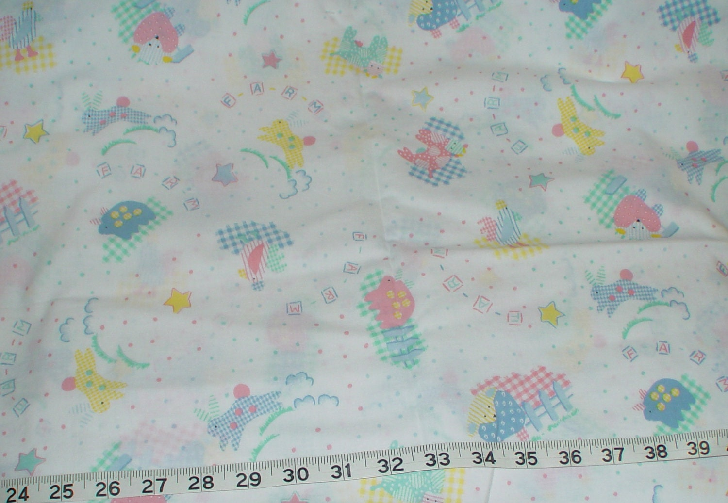 baby nursery shower fabric 1 yard