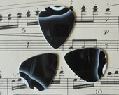 Guitar Picks - recycle Upcycled pick plastic gift cards for your Ukulele Guitar Mandolin - Boba Tea