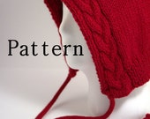 KNITTING PATTERN - Braided Cable Hood