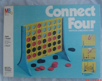 connect four by milton bradley