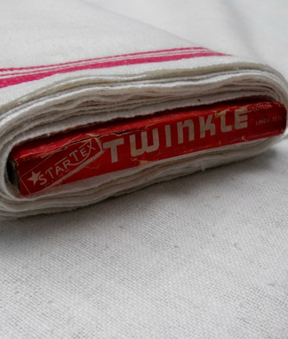 5  yard length of authentic vintage Startex toweling fabric, off the original bolt