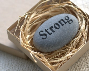Office gifts - Pocket Stones set of 3 for family, friend, co worker