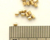 50 - 2X2mm Crimp Beads 14K20 Gold Filled