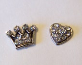 Blingy Floating Charms to fit into any brand of floating charm locket neclaces or bracelets, CHOOSE 1 CHARM