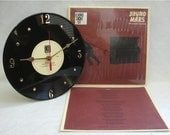BRUNO MARS The Grenade Sessions - Recycled Record Clock