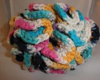 Cotton Hyperbolic Hand Crocheted Ball Soft Toy Machine Wash Light Weight