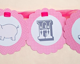 The Vintage PINK Farm Collection - Custom Banner from Mary Had a Little Party