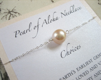 Pearl of Aloha Necklace - Choices