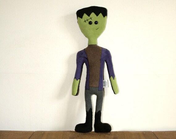 Stuffed Frankenstein Doll Plush, READY TO SHIP