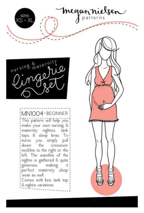 Lingerie Set- Megan Nielsen Sewing Pattern