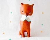 Custom Fox Figurine Doll animal, ABC animals by Paola Zakimi
