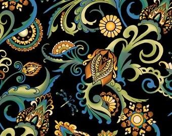 Deco All Over Fabric Multi Color 1 Yard 1DEC2
