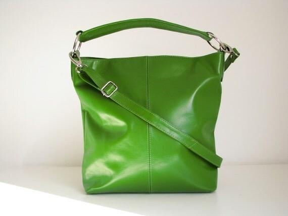 Leather Purse, Handbag, large leather tote, messenger bag