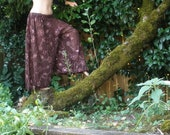 Sequin embroidered Belly Dance harem pants