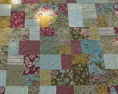 Wild Rose King size quilt