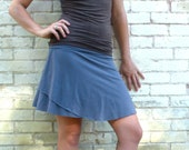 Petunia ~ Short Simple Skirt ~ Bamboo & Organic Cotton ~ Made to Order