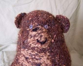 Brown Bobo Bear Stuffed Toy