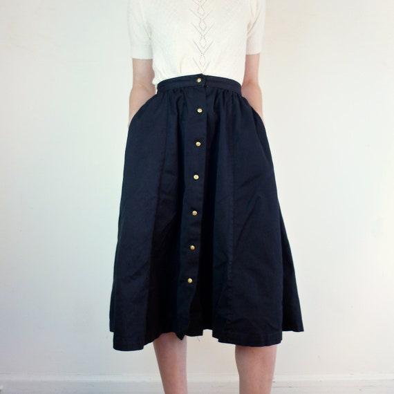 Vintage 1940s Skirt / 40s Skirt