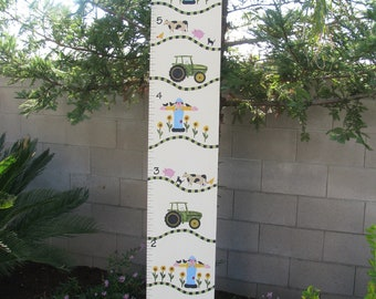 Whimsical Garden Painted Fence Board By Bubee On Etsy