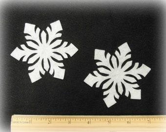 "3.5"" snowflakes 12 pcs"