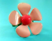 50% OFF Pink Flower Power Ring
