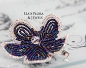 GBK 2012 Primetime Emmys  - Emmy Jewels hair clip/brooch pin combo, purple