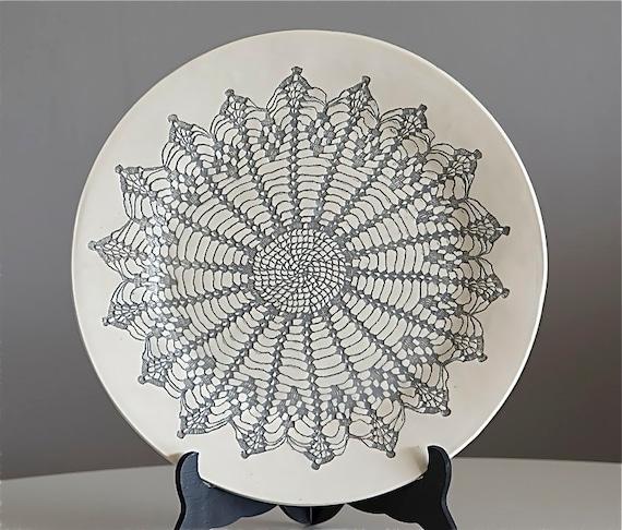 Earl Grey Platter, Handmade
