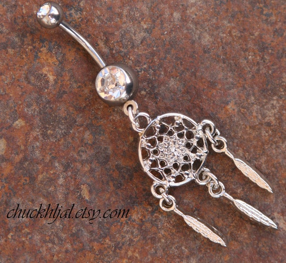 Rodeo belly button rings designer belly button ring