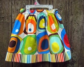 Girls Boule Skirt, Size 8    Ready to ship