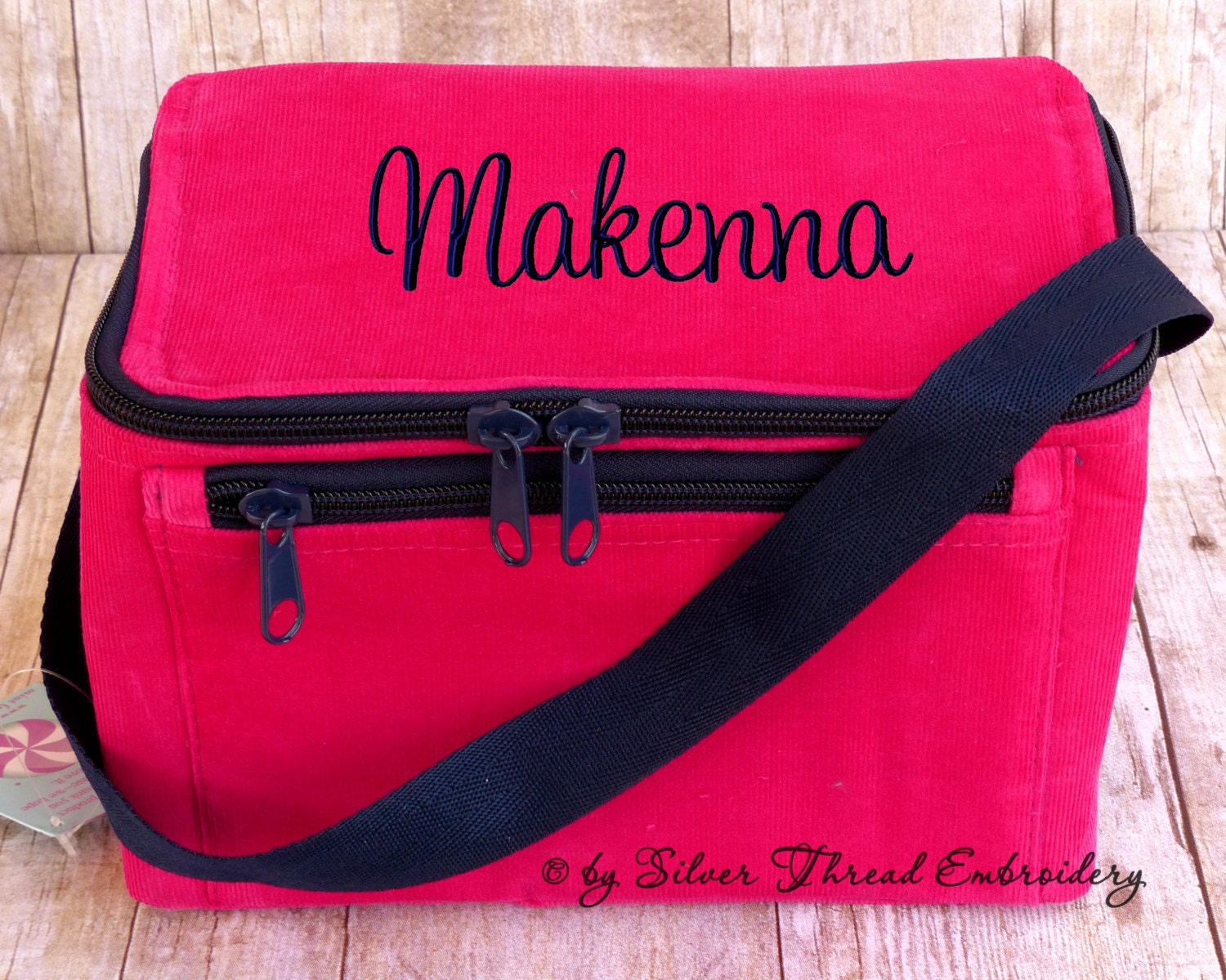 Monogrammed Lunch Box For Adults