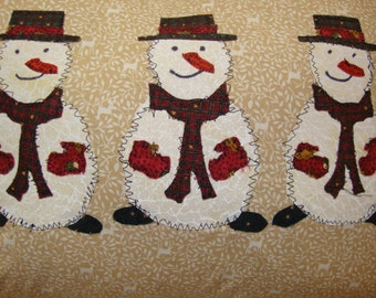 Snowman Pillow cover - CLEARANCE