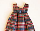 Pleated Tartan Custom Blythe Dress