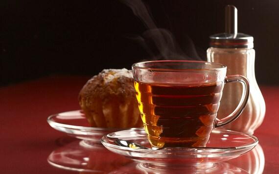 Tea Teabags 25 Vanilla black Hand Blended tea in teabags