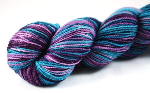 Concord--hand dyed sock yarn, merino SW, (490yds/100gm)