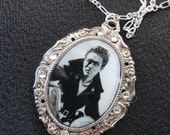 James Dean Silver Pendant Necklace