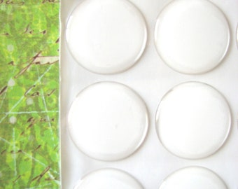 10  1 inch Circle Round Epoxy Stickers   25mm