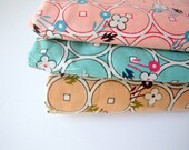 destash fabric sale - lecien old new fabric collection (3 fat quarter pieces)