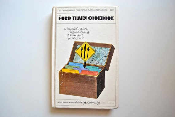 Ford Times Cookbook (Great Mid-Century Illustrations incl. Charles Harper)