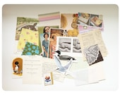 """Hand Curated Vintage Ephemera Pack II - Over 25 Assorted Pieces of the Past - 4""""x6"""""""