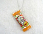Pack Of Marshmallows Necklace Miniature Food Jewelry