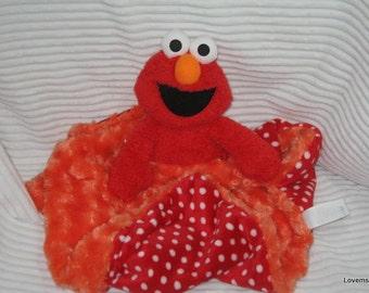 Security Blanket, Baby Blanket, Lovie,  - Xtra large Elmo
