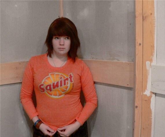 squirt soda shirt BOOM.