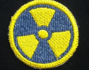 Radiation Iron-on Patch / Merit Badge