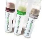 Clear unscented lip balm