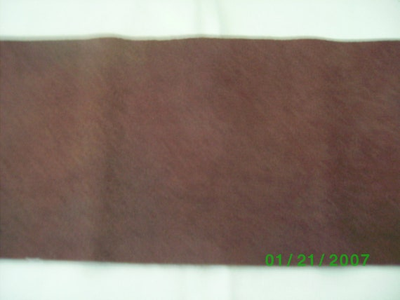 Plant Dyed Felted Wool Dansom Plum 7 x 17